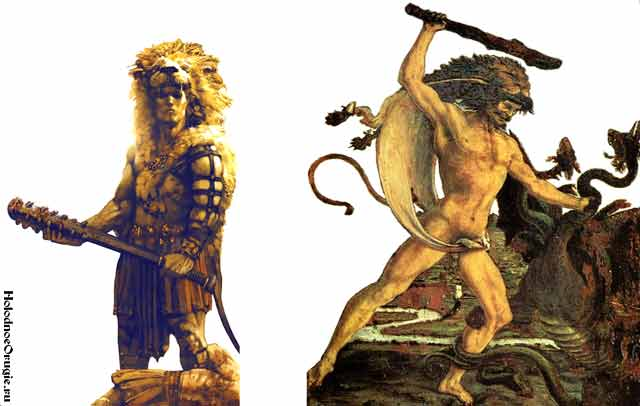 Геракл с палицей