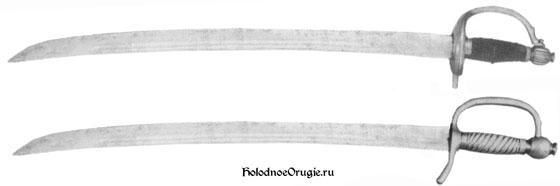 Русские тесаки образца 1798 года