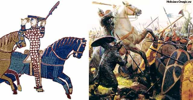Вильгельм Завоеватель с палицей