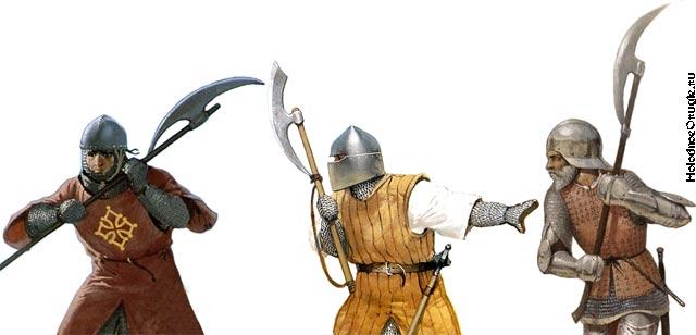 Воины с бердышами